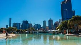 Città di Brisbane fotografie stock libere da diritti
