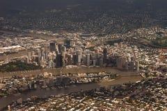 Città di Brisbane Fotografia Stock