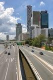 Città di Brisbane Immagini Stock