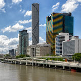 Città di Brisbane Immagini Stock Libere da Diritti