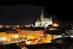 Città di Brno Fotografia Stock