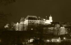 Città di Brno - castello di Spilberk, Europa centrale - la repubblica Ceca Fotografia Stock Libera da Diritti
