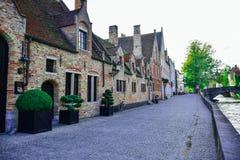 Città di Bruges nel Belgio immagine stock libera da diritti