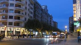 Città di Burgos immagine stock