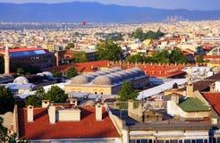 Città di Bursa Fotografie Stock Libere da Diritti