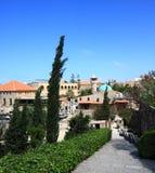 Città di Byblos, Libano Immagini Stock