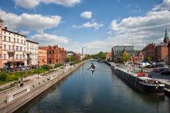 Città di Bydgoszcz immagini stock libere da diritti