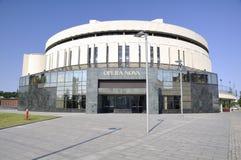 Città di Bydgoszcz in Polonia. Fotografia Stock Libera da Diritti