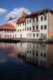 Città di Bydgoszcz in Polonia fotografia stock