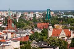 Città di Bydgoszcz in Polonia fotografia stock libera da diritti