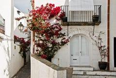 Città di Cadaques fotografie stock