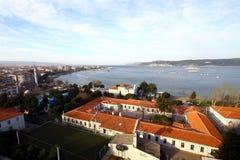 Città di Canakkale Immagini Stock Libere da Diritti