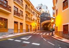 Città di Candelaria sull'isola di Tenerife Fotografia Stock Libera da Diritti