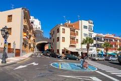 Città di Candelaria Tenerife, Isole Canarie, Spagna Fotografie Stock