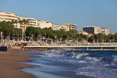 Città di Cannes Fotografia Stock