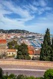 Città di Cannes in Francia Fotografia Stock