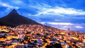 Città di Cape Town, Sudafrica fotografia stock libera da diritti