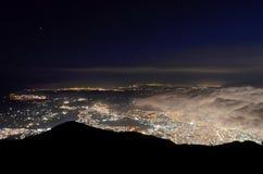 Città di Caracas fotografie stock