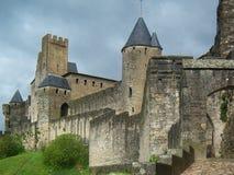 Città di Carcassonne Immagine Stock