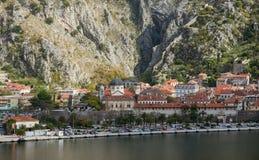 Città di Cattaro montenegro Fotografia Stock