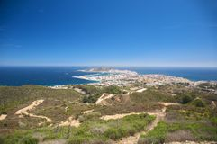 Città di Ceuta Immagini Stock Libere da Diritti