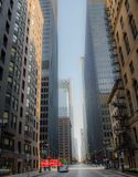città di Chicago Fotografia Stock Libera da Diritti