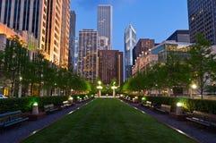 Città di Chicago Immagini Stock Libere da Diritti