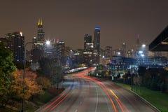Città di Chicago. immagini stock libere da diritti