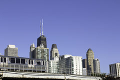 Città di Chicago Fotografie Stock Libere da Diritti