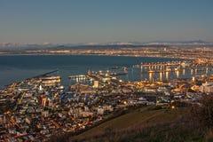 Città di Città del Capo immagini stock libere da diritti