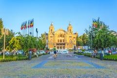 Città di Cluj-Napoca Immagini Stock