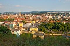 Città di Cluj Napoca in Romania Fotografia Stock Libera da Diritti