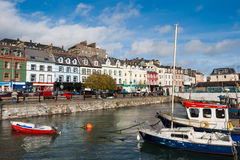 Città di Cobh. L'Irlanda Immagini Stock Libere da Diritti