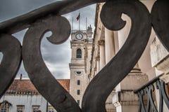 Città di Coimbra Fotografie Stock Libere da Diritti