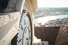 Città di Coimbra Fotografia Stock