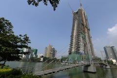 Città di Colombo nello Sri Lanka fotografia stock