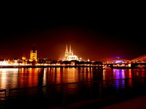 Città di Colonia Immagine Stock Libera da Diritti