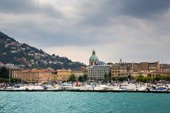 Città di Como, Italia Fotografie Stock Libere da Diritti