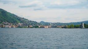 Città di Como in Italia