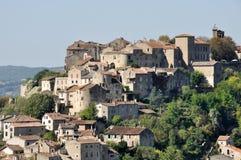 Città di Cordes-sur-Ciel, Francia Fotografia Stock