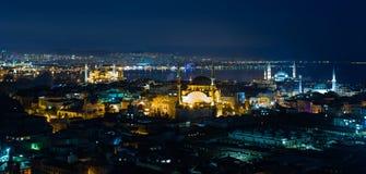 Città di Costantinopoli Immagine Stock Libera da Diritti