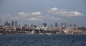 Città di Costantinopoli Immagini Stock Libere da Diritti