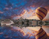 Città di Costantinopoli Fotografia Stock Libera da Diritti