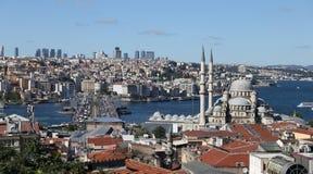 Città di Costantinopoli in Turchia Fotografia Stock Libera da Diritti