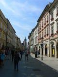 Città di Cracovia Fotografia Stock