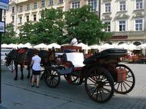 Città di Cracovia Fotografie Stock