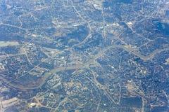 Città di Cracovia in Polonia, Europa immagini stock libere da diritti