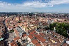 Città di Cremona, Italia Fotografia Stock Libera da Diritti