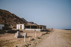 Città di Dahab nell'Egitto Fotografie Stock