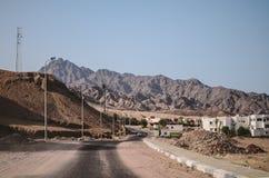 Città di Dahab nell'Egitto Fotografie Stock Libere da Diritti